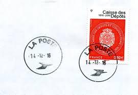 bureau de poste 14 philatélie cartophilie de michel un timbre à date insolite de