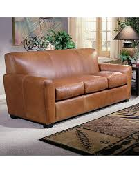 Omnia Leather Sofa Amazing Deal On Omnia Leather Jackson Leather Sleeper Sofa Jac Ss
