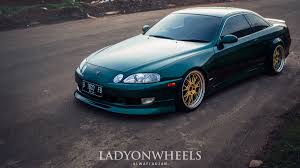 lexus sc400 wheels lexus soarer lady on wheels indonesian stance u0026 hellaflush
