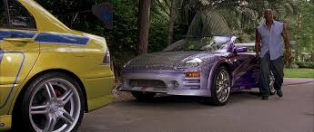 purple mitsubishi eclipse spyder image roman eclipse spyder gts png the fast and the furious