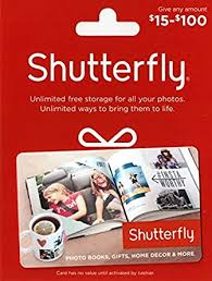 shutterfly 50 gift card gift cards