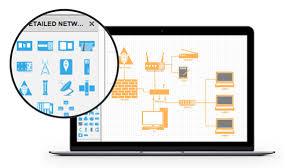 network diagram network diagram online network diagram software