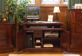 Hidden Home Office Desk by Mahogany Furniture Pallet Furniture Ideas
