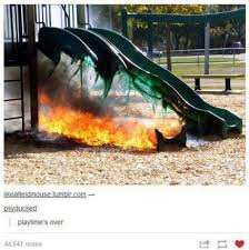 Hot Day Meme - like going down a metal slide on a hot day