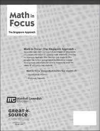 math in focus singapore math homeschool answer key grade 5