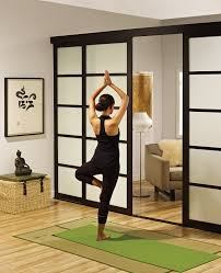 home design sliding glass room dividers in office intended for