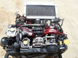 subaru engine turbo jdm subaru impreza wrx sti ej20 turbo engine ver6 u002797 subaru