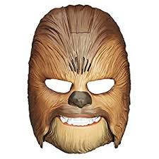 amazon star wars force awakens chewbacca electronic mask