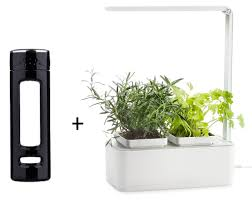 tea infuser bottle 14 oz and indoor garden led light hydroponics