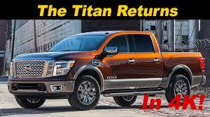 nissan titan half ton 2017 nissan titan pickup first drive review in 4k uhd youtube