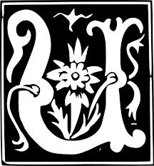 decorative letter u set clip art at clker com vector clip art