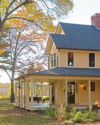 farmhouse wrap around porch farmhouse porch lights porch farmhouse with brick walkway yellow