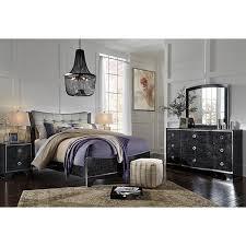 Rent Ashley Amrothi Piece Queen Bedroom Set - 7 piece bedroom furniture sets
