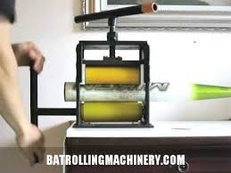 bat rolling machine for sale bat rolling machine demonstration