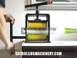 bat rolling bat rolling machine demonstration