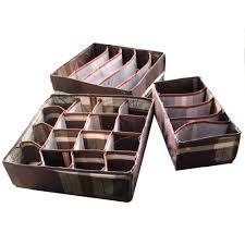 aliexpress com buy coffee jacquard home storage box bins