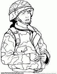 military coloring pages free coloring pages army guy coloring