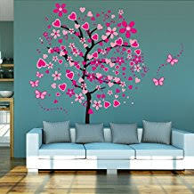stickers arbre chambre fille amazon fr stickers arbre