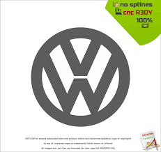 german volkswagen logo vw logo dxf free dxf files free cad software dxf1 com