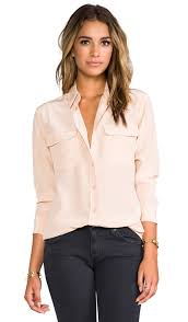 equipment signature blouse equipment signature blouse in revolve