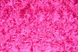 pink rosette table runner pink rosette satin table runners