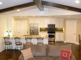 Wohnzimmer Mit Indirekter Beleuchtung Wohnzimmer Und Küche In Einem Raum Gestaltungsideen Wohnzimmer