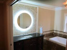 wall mirrors lighted wall mounted mirrors for bathrooms lighted