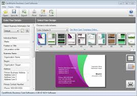 card software business card design software the best contact management