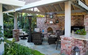 outdoor entertainment free standing covered entertainment area michael glassman