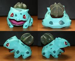 bulbasaur flower pot 6 steps with pictures