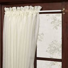 Swing Arm Curtain Rod Awesome Deco Nouveau Swing Arm Curtain With Brackets Shop Pic