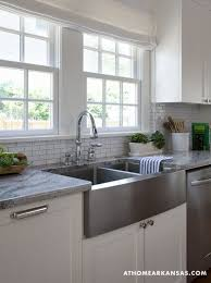 stainless steel apron sink stainless steel farmhouse style kitchen sink inspiration the happy