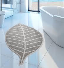 tappeti web centesimo web shop tappeto bagno antiscivolo foglia in due colori