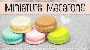 miniature macaron diy mini macarons from bottle caps trinket
