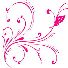 pink butterfly design png by hasnasone on deviantart