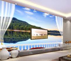compare prices on wall mural scenery online shopping buy low 3d wallpaper for room balcony tv backdrop scenery wall mural photo wallpaper home decoration china