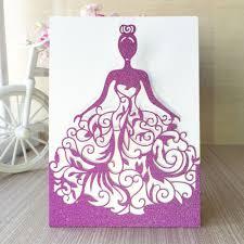 Customized Wedding Invitation Cards Online Get Cheap Princess Wedding Invitations Aliexpress Com