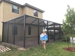 1 naples screen enclosures re screen sunroom carport in naples