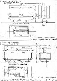 Caboose Floor Plans C U0026sng Discussion Forum Gilpin Tram