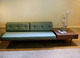 Retro Armchairs For Sale 1950 U0027s Retro Sofa With Side Table Attached For The Home