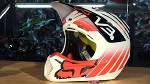 fox helmet motocross fox racing v3 motocross helmet review youtube