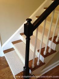Western Home Decor Ideas by Choosing A Stair Runner Some Inspiration And Lessons Learned