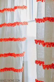 Curtains With Pom Poms Decor Anthropologie Knock How To Http Makelyhome Diy