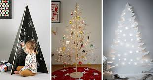 modern christmas tree 12 modern christmas trees you can decorate with this
