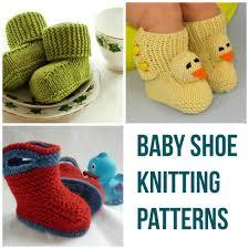 shoe knitting patterns