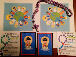 Rosary For Kids Worksheets Feast Of Our Lady Of The Rosary Little Ways Sacrifice Beads