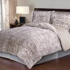 Fur Bed Set Faux Fur Comforter Bed Bath And Beyond Home Design Ideas