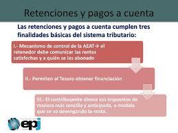 pagos a cuenta y retenciones del impuesto a la renta por retenciones y pagos a cuenta ppt descargar