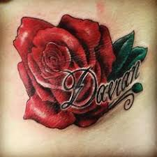 rose tattoos the last of my name tattoos is this stunning rose