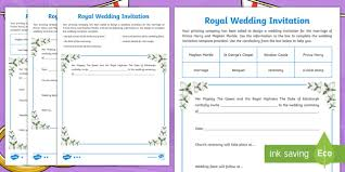 wedding ceremony phlet royal wedding invitation template gallery party invitaion and